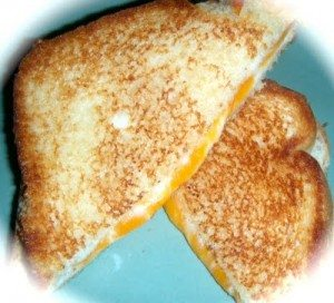 Grandma's Classic Grilled Cheese Sandwich