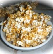 homemade caramel covered popcorn recipe
