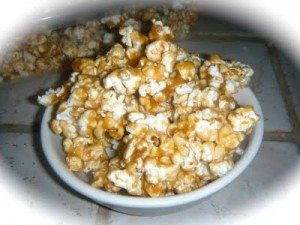Gourmet Caramel Covered Popcorn