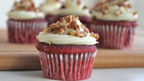 easy red velvet cupcakes recipes
