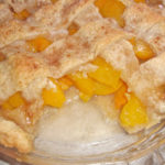 homemade peach cobbler recipe