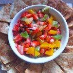 fruit salsa cinnamon chips recipe