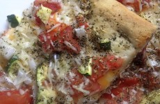 Pampered Chef three cheese pizza recipe
