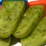 Refreshing Kiwi Popsicles….ahhh Summer!