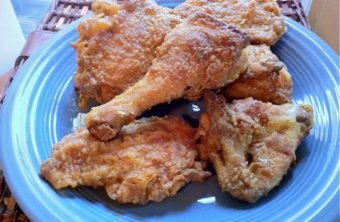 Easy Oven Fried Chicken