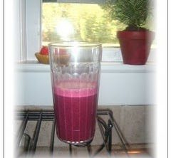Blueberry Sunrise Yogurt Smoothie