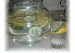 cucumber lemon spa water recipe