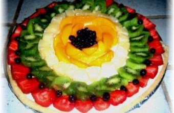 Figure-Friendly Fruit Pizza Recipe