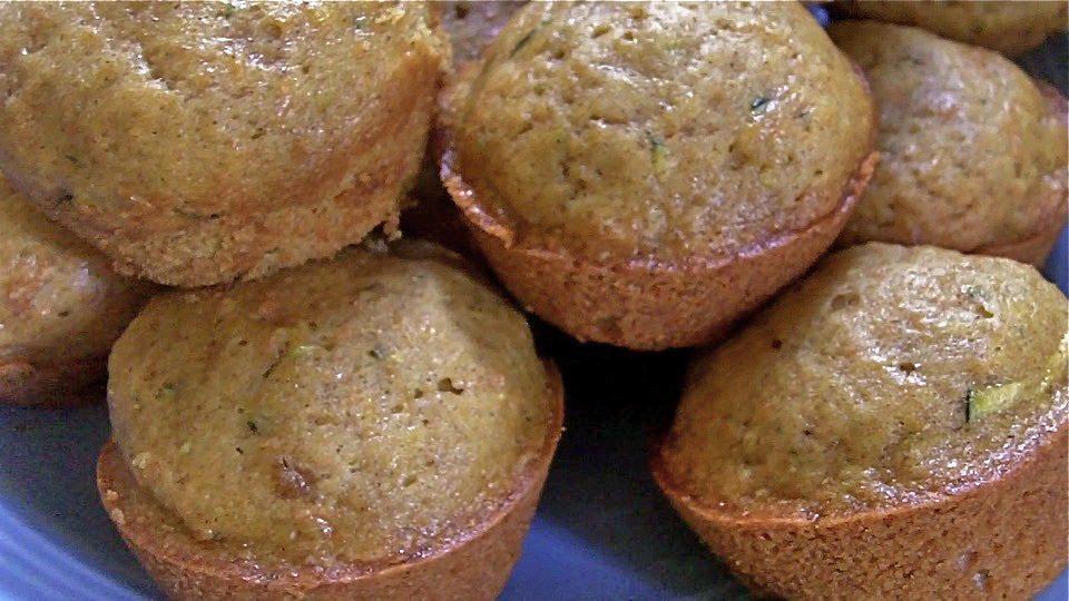 Sweet Veggie Muffins