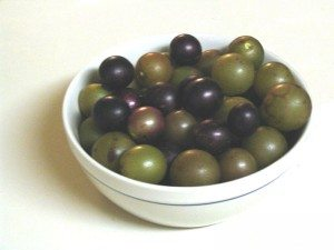 bowl of Muscadines