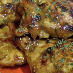 Honey Curry Chicken Thighs Recipe