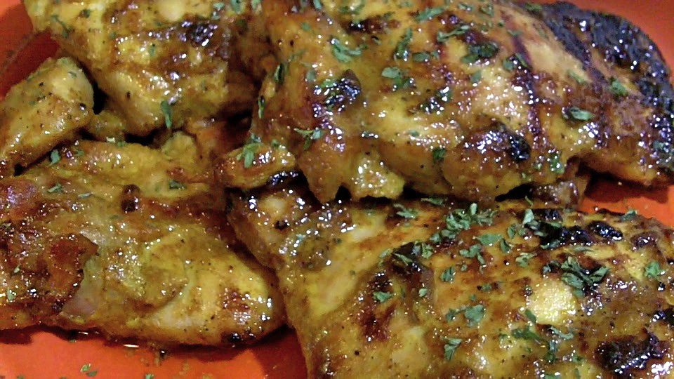 Honey Curry Chicken Thighs Recipe