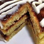 cinnamon roll cinna stacks pancakes recipe