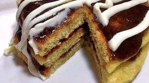 Cinnamon Roll Pancakes (Homemade CinnaStacks!!)