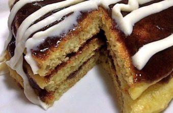 cinnamon roll pancakes ihop cinna stacks pancakes recipe