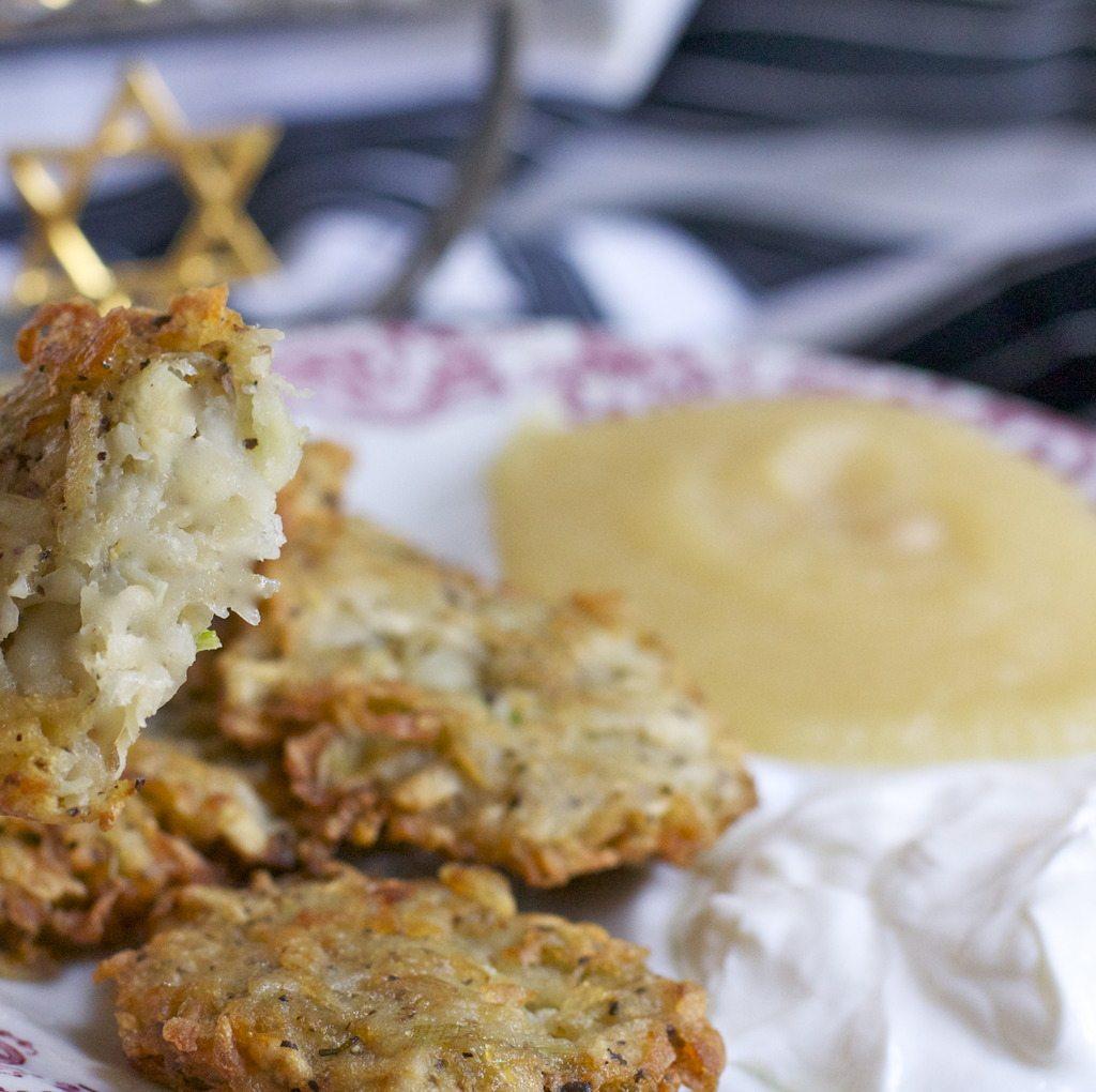 Hanukkah potato latkes recipe easy