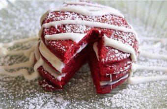 Red velvet pancakes recipes