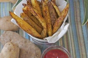 Crispy Cajun Oven Baked Fries Recipe