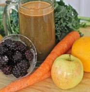 Homemade Vegetable Fruit Juice- Kid Juicer Recipe