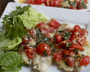Bruschetta Tilapia (Fish) Recipe