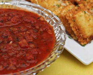 Easy Marinara Sauce Recipe -Chunky