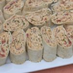 mexican chicken salad pinwheel wraps recipes