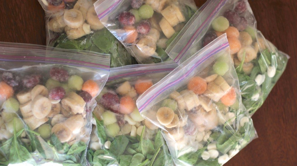 green monster smoothie packets
