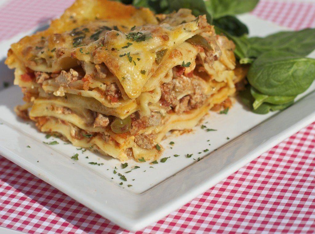 picante lasagna recipe