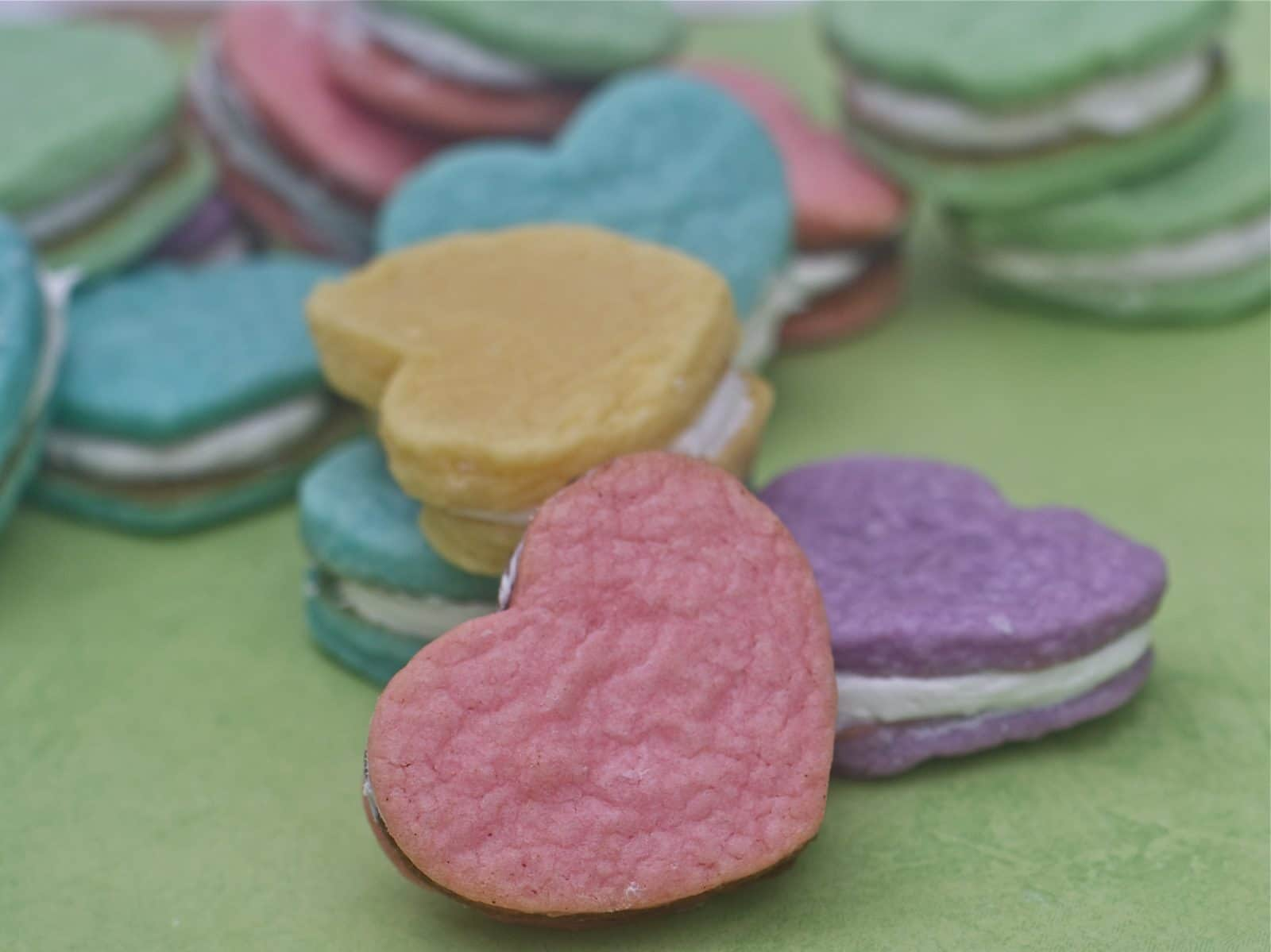 Cream Cheese Sugar Cookies Recipe –  Heart Sandwich Cookies