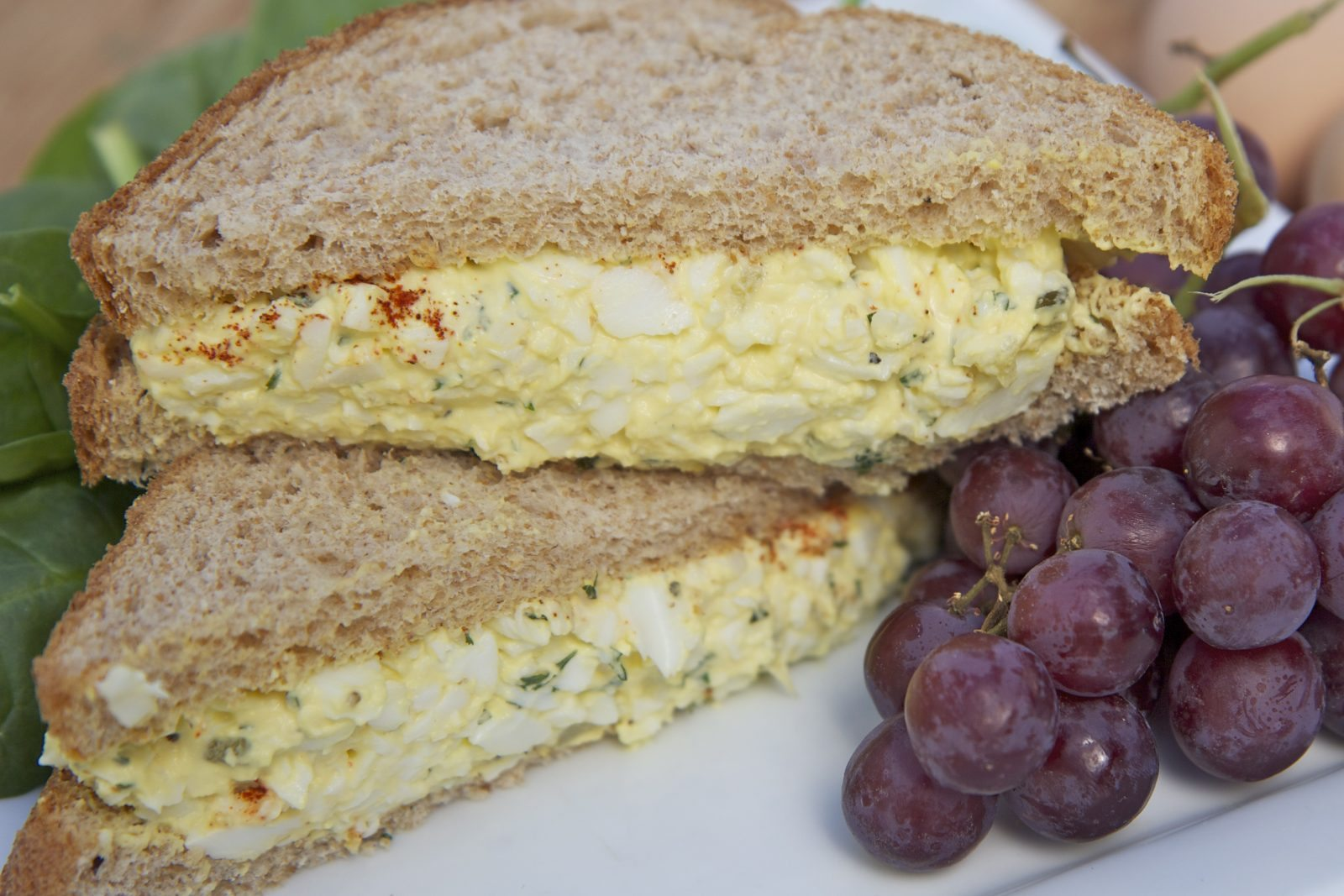 Classic Egg Salad Sandwiches