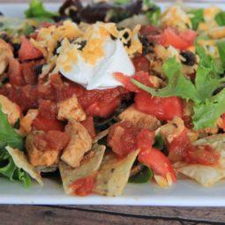 Taco chicken salad recipe