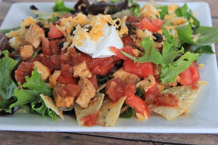 Chicken Taco Salad Recipe | Divas Can Cook