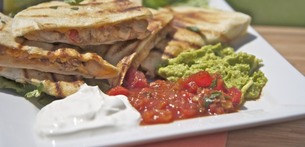 Smoked Chicken & Cheese Quesadilla