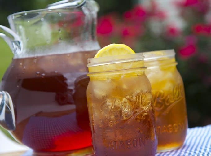 southern sweet ice tea recipe