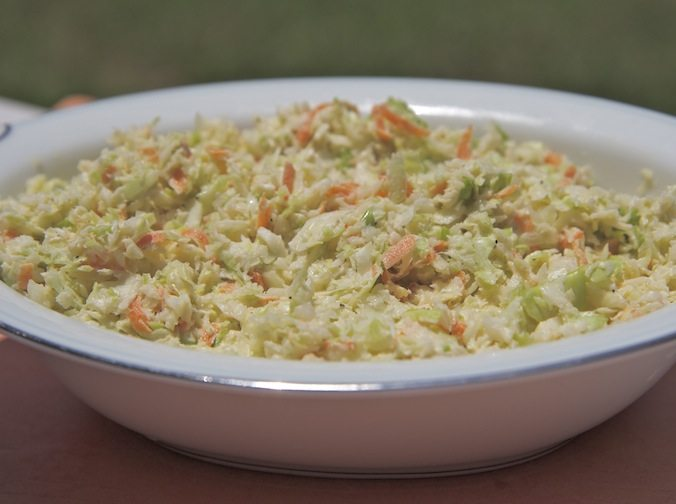 Creamy, Crunchy & Perfectly Sweetened Coleslaw!