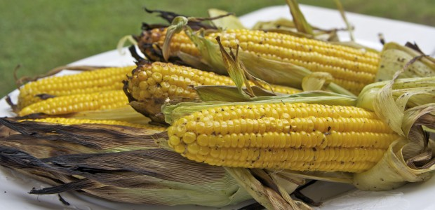 Sweet & Smokey Grilled Corn On The Cob