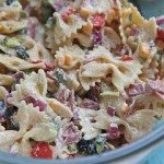creamy bacon cheddar ranch pasta salad recipe cold pasta salad