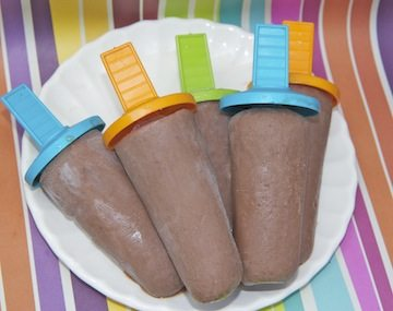 Creamy Nutella Fudgesicles