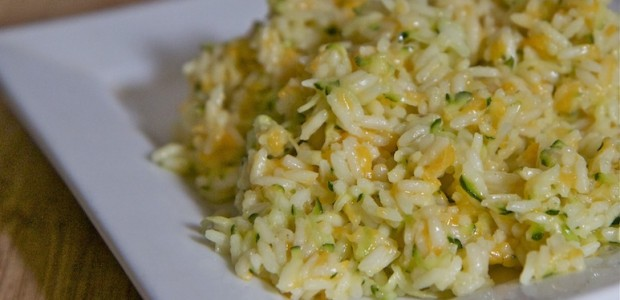 Cheesy Zucchini Rice