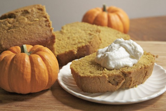 Moist & Fluffy Pumpkin Bread
