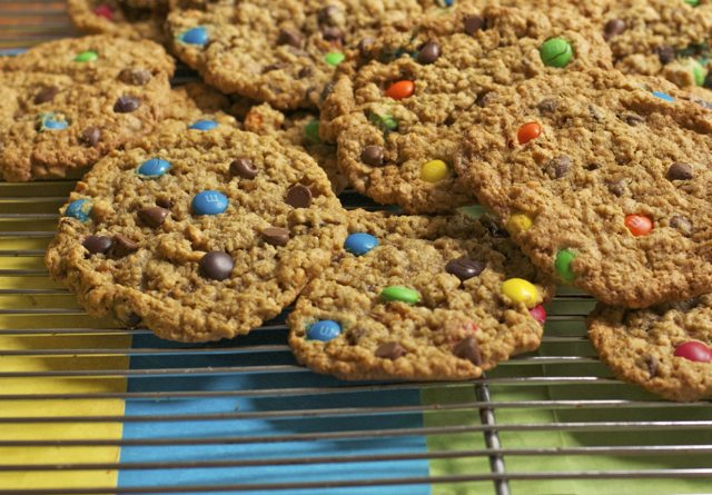 Easy Monster Cookies Recipe- Best Monster Cookies! | Divas Can Cook