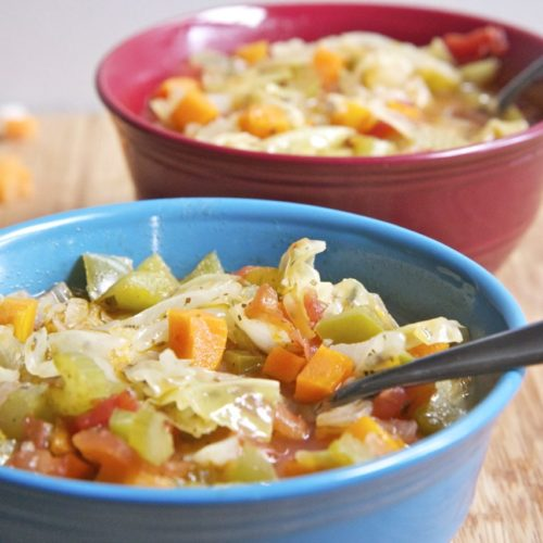 soup diet how much weight loss