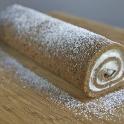 sweet potato cake roll recipe