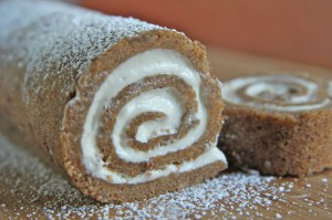 Sweet Potato Cake Roll