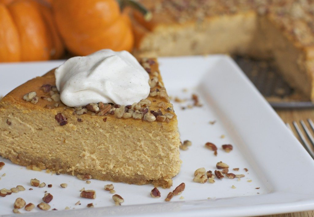 Easy Pumpkin Pie Cheesecake Recipe | Divas Can Cook