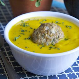 roasted butternut squash soup recipe chicken meatballs