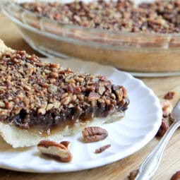 southern chocolate pecan pie