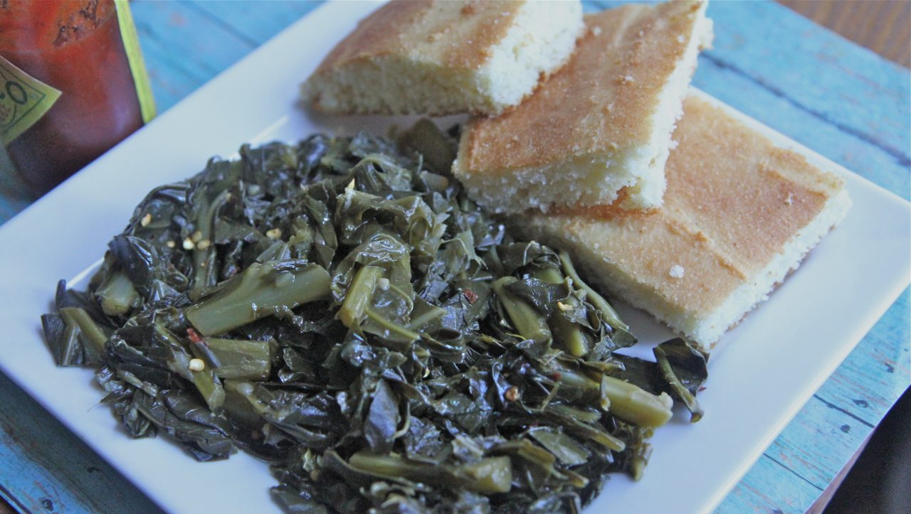 vegetarian southern collard greens recipe healthy vegan