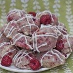 White Chocolate Raspberry Cheesecake Cookies