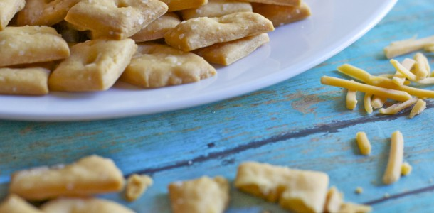 Homemade Cheese Crackers Recipe Cheez-Its